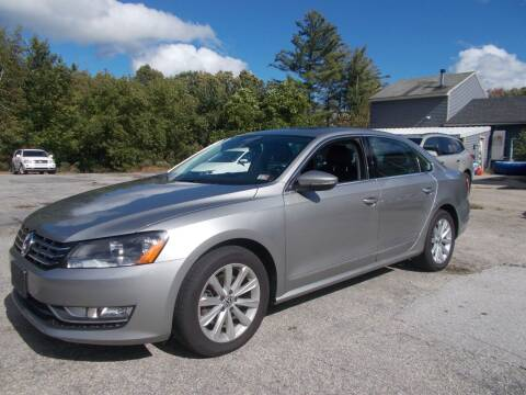 2012 Volkswagen Passat for sale at Manchester Motorsports in Goffstown NH