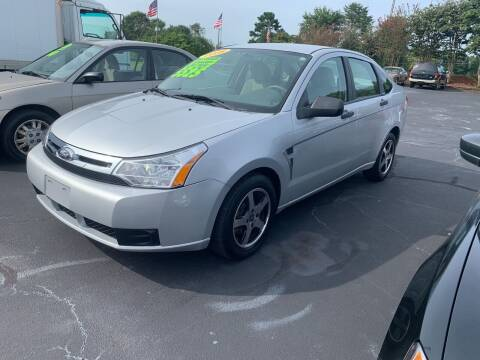 2008 Ford Focus for sale at Doug White's Auto Wholesale Mart in Newton NC