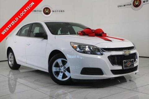 2015 Chevrolet Malibu for sale at INDY'S UNLIMITED MOTORS - UNLIMITED MOTORS in Westfield IN