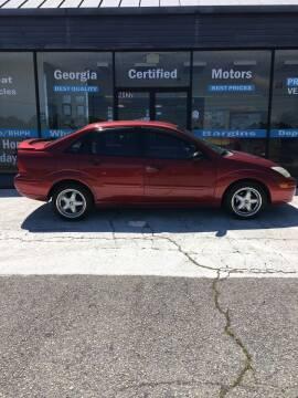 2000 Ford Focus for sale at Georgia Certified Motors in Stockbridge GA