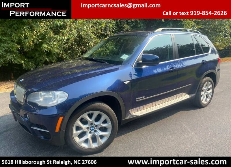 2013 BMW X5 for sale at Import Performance Sales in Raleigh NC