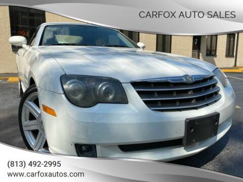 2004 Chrysler Crossfire for sale at Carfox Auto Sales in Tampa FL