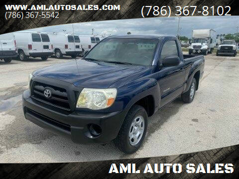 2007 Toyota Tacoma for sale at AML AUTO SALES - Pick-up Trucks in Opa-Locka FL