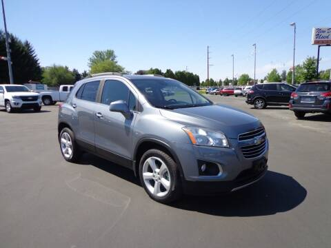 2015 Chevrolet Trax for sale at New Deal Used Cars in Spokane Valley WA