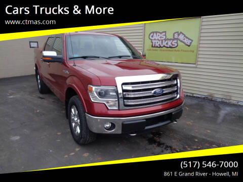2013 Ford F-150 for sale at Cars Trucks & More in Howell MI