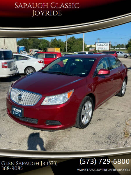 2011 Buick LaCrosse for sale at Sapaugh Classic Joyride in Salem MO