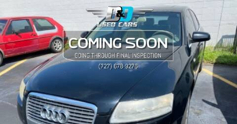 2006 Audi A6 for sale at D & D Used Cars in New Port Richey FL