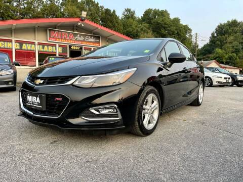 2016 Chevrolet Cruze for sale at Mira Auto Sales in Raleigh NC