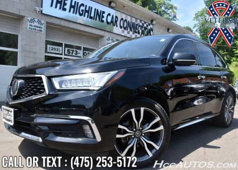 2020 Acura MDX for sale at The Highline Car Connection in Waterbury CT