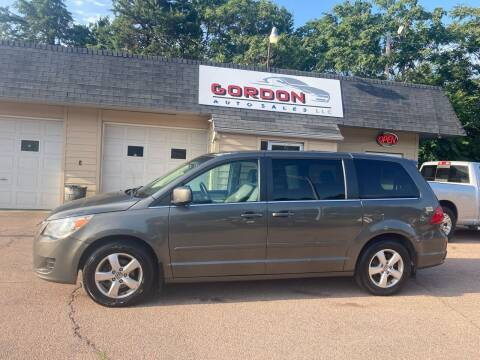 2010 Volkswagen Routan for sale at Gordon Auto Sales LLC in Sioux City IA