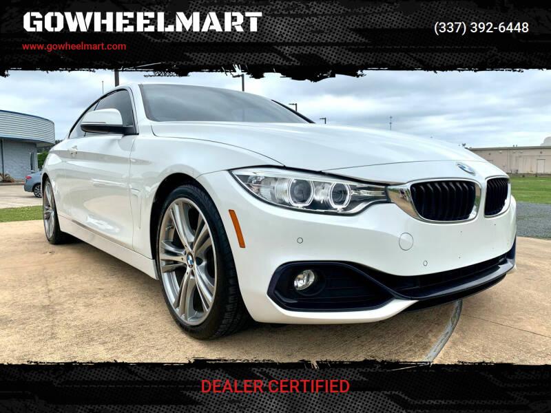 2016 BMW 4 Series for sale at GOWHEELMART in Leesville LA