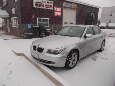 2010 BMW 5 Series for sale at Mig Auto Sales Inc in Albany NY