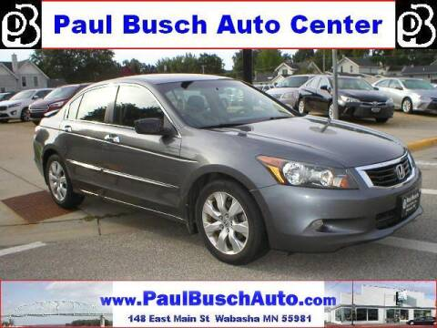 2010 Honda Accord for sale at Paul Busch Auto Center Inc in Wabasha MN