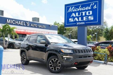 2019 Jeep Compass for sale at Michael's Auto Sales Corp in Hollywood FL