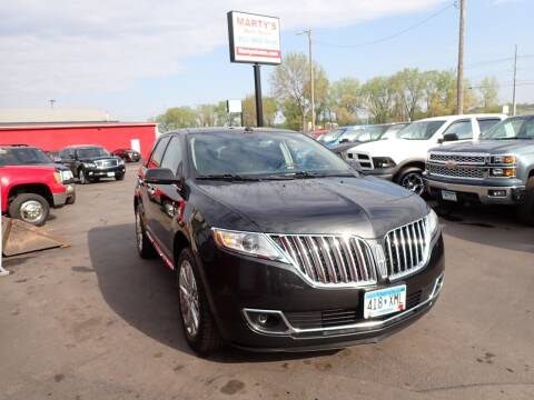 2014 Lincoln MKX for sale at Marty's Auto Sales in Savage MN