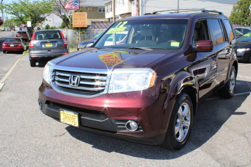 2012 Honda Pilot for sale at Lodi Auto Mart in Lodi NJ