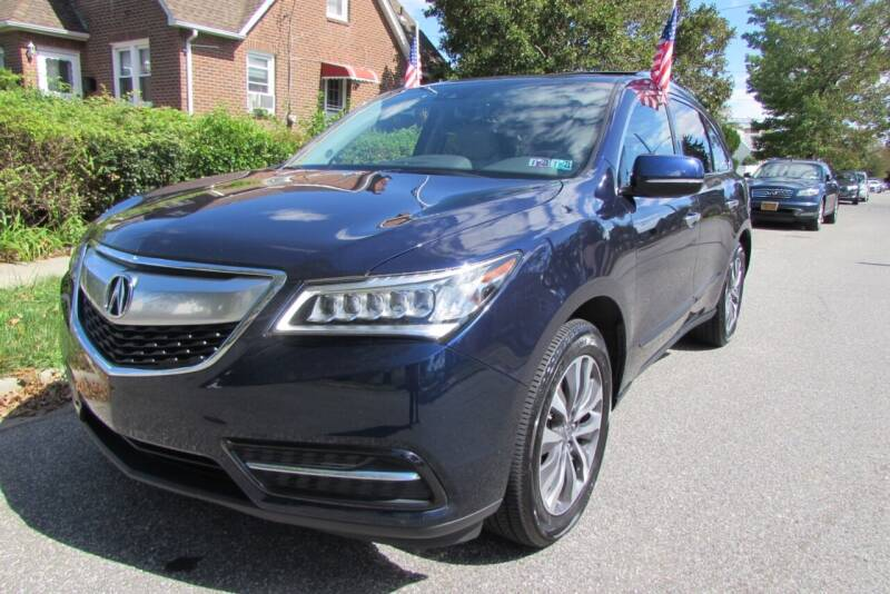 2016 Acura MDX for sale at First Choice Automobile in Uniondale NY