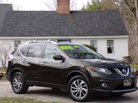 2014 Nissan Rogue for sale at The Auto Barn in Berwick ME