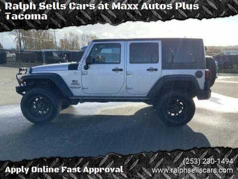 2010 Jeep Wrangler Unlimited for sale at Ralph Sells Cars at Maxx Autos Plus Tacoma in Tacoma WA