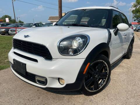 2012 MINI Cooper Countryman for sale at Texas Select Autos LLC in Mckinney TX
