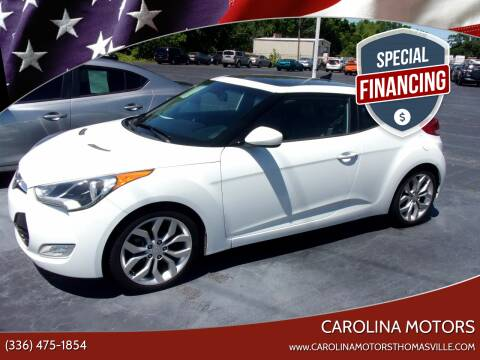 2015 Hyundai Veloster for sale at CAROLINA MOTORS in Thomasville NC