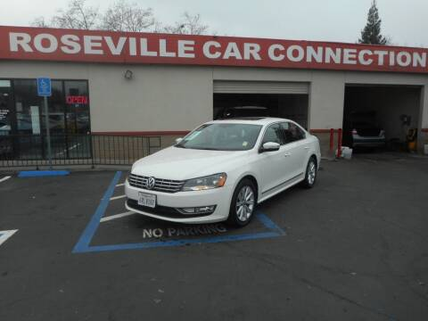 2012 Volkswagen Passat for sale at ROSEVILLE CAR CONNECTION in Roseville CA