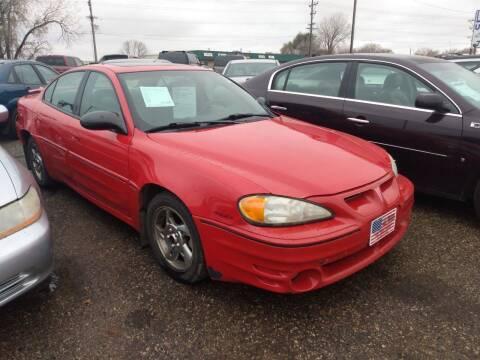 2004 Pontiac Grand Am for sale at L & J Motors in Mandan ND