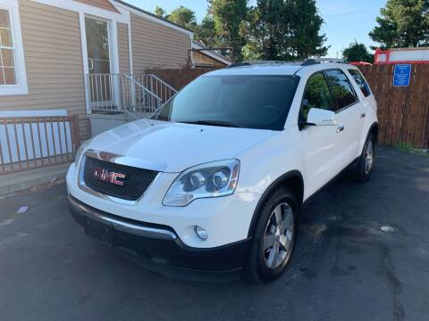 2012 GMC Acadia for sale at Lux Car Sales in South Easton MA