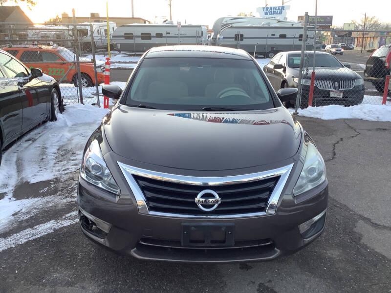 2013 Nissan Altima for sale at GPS Motors in Denver CO
