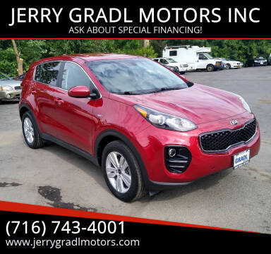 2017 Kia Sportage for sale at JERRY GRADL MOTORS INC in North Tonawanda NY