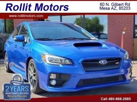 2016 Subaru WRX for sale at Rollit Motors in Mesa AZ