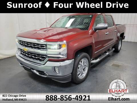 2017 Chevrolet Silverado 1500 for sale at Elhart Automotive Campus in Holland MI