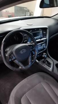 2012 Kia Optima Hybrid for sale at MARVIN'S AUTO BODY in Farmington ME