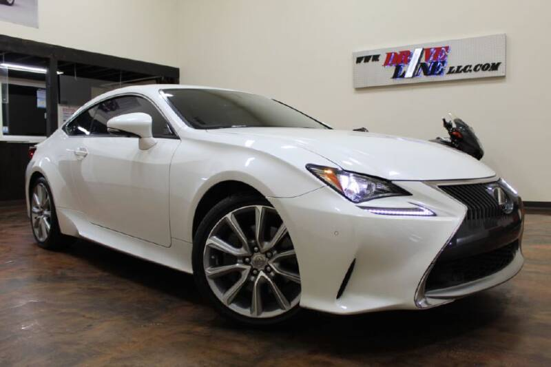2015 Lexus RC 350 for sale at Driveline LLC in Jacksonville FL