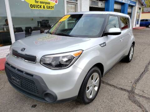 2015 Kia Soul for sale at AutoMotion Sales in Franklin OH