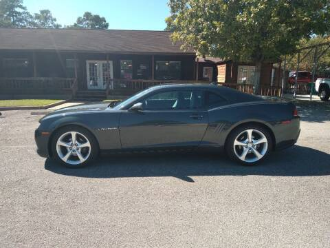2015 Chevrolet Camaro for sale at Victory Motor Company in Conroe TX
