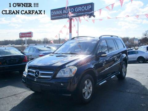 2007 Mercedes-Benz GL-Class for sale at Divan Auto Group in Feasterville PA