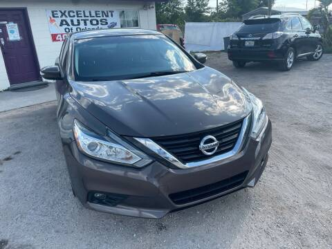2017 Nissan Altima for sale at Excellent Autos of Orlando in Orlando FL