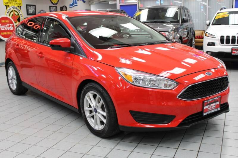 2015 Ford Focus for sale at Windy City Motors in Chicago IL