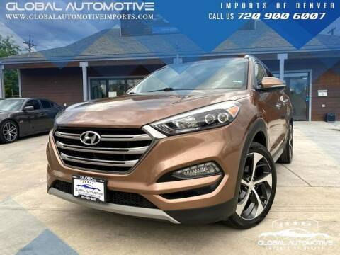 2017 Hyundai Tucson for sale at Global Automotive Imports of Denver in Denver CO