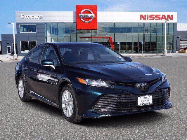2019 Toyota Camry for sale at EMPIRE LAKEWOOD NISSAN in Lakewood CO