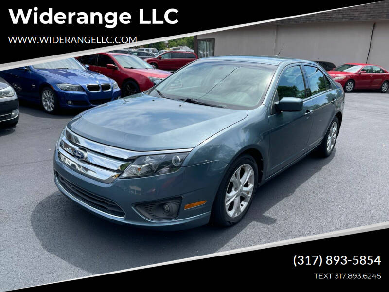 2012 Ford Fusion for sale at Widerange LLC in Greenwood IN