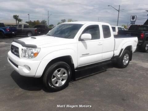 2008 Toyota Tacoma for sale at Matt Hagen Motors in Newport NC
