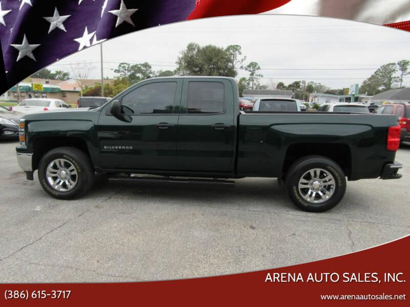 2014 Chevrolet Silverado 1500 for sale at ARENA AUTO SALES,  INC. in Holly Hill FL