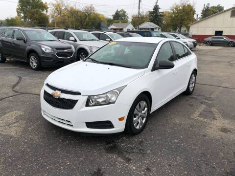 2012 Chevrolet Cruze for sale at Dean's Auto Sales in Flint MI