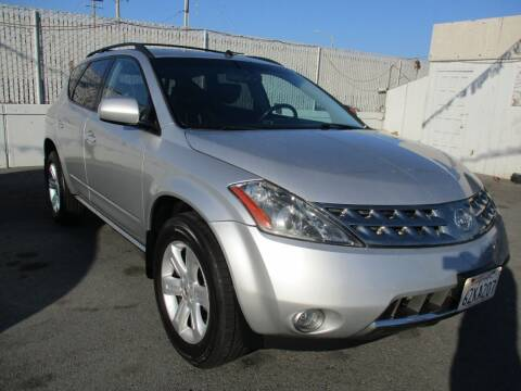 2007 Nissan Murano for sale at Car House in San Mateo CA