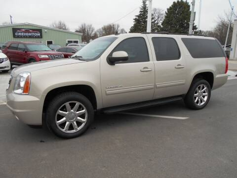 2012 GMC Yukon XL for sale at Creighton Auto & Body Shop in Creighton NE