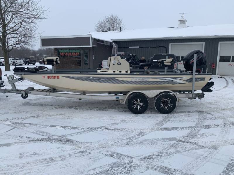 2017 LOWE BAY 20 for sale at Hawkins Motors Sales in Hillsdale MI