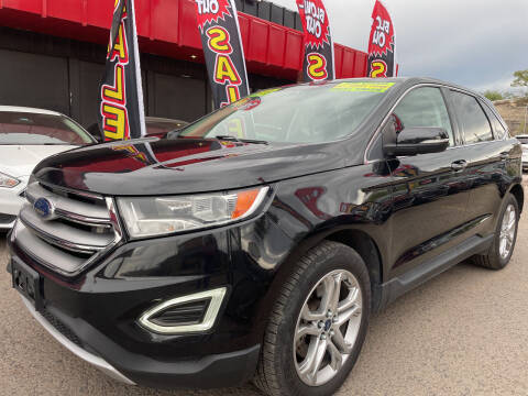 2015 Ford Edge for sale at Duke City Auto LLC in Gallup NM
