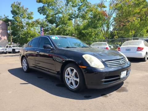 2004 Infiniti G35 for sale at Universal Auto Sales in Salem OR